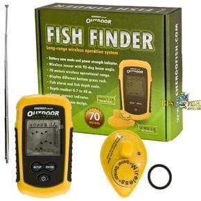 Сонар (эхолот) EnergoTeam Fish Finder портативный беспроводной для поиска рыбы