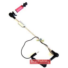 Свингер на планке Bratfishing Monkey-02 / с светодиодной подсветкой красный