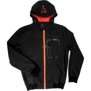 Куртка Fox Black Orange Hoodie