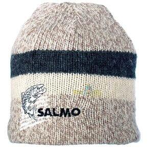 Шапка шерст. с флисовой  подкладкой  Salmo