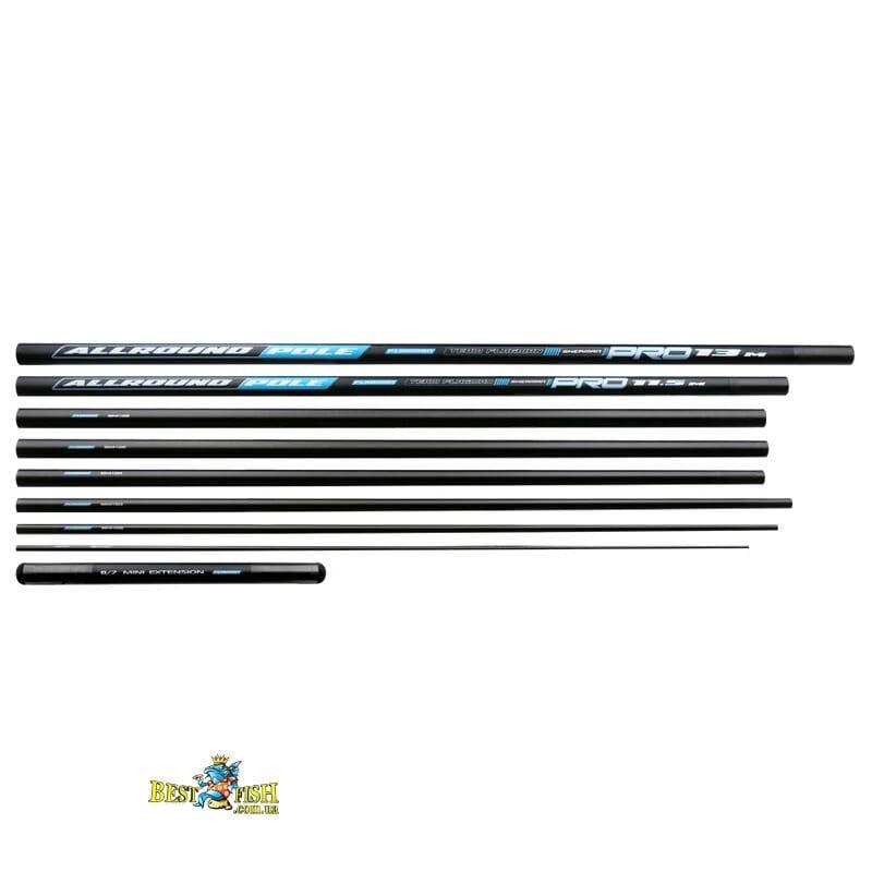 Штекерное удилище Flagman Sherman Pro Allround Long Pole 13m + Mini Extension
