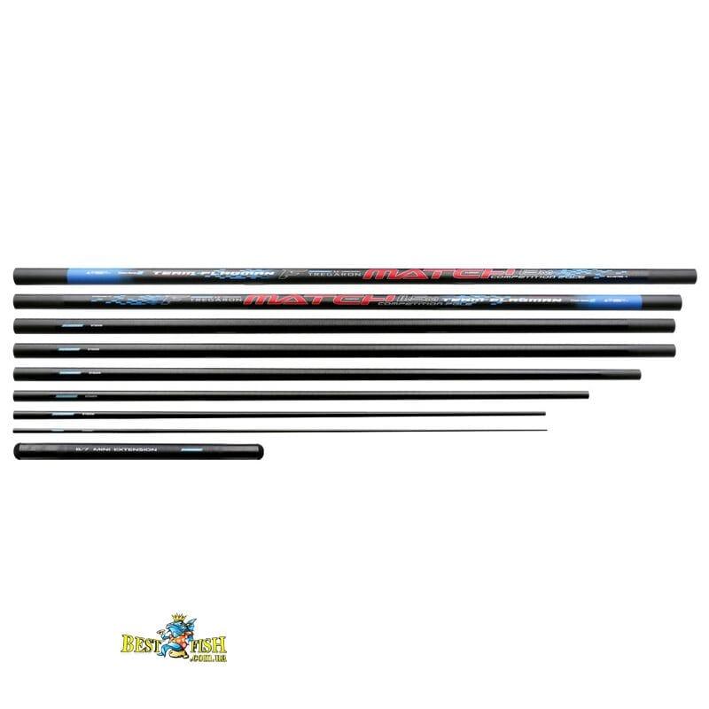 Штекерное удилище Flagman Tregaron Match Long Pole Series 2 13m + Mini Extension