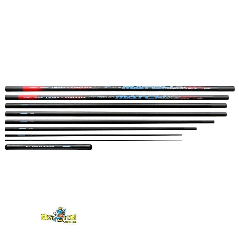 Штекерное удилище Flagman Tregaron Match Long Pole Series 3 13m + Mini Extension