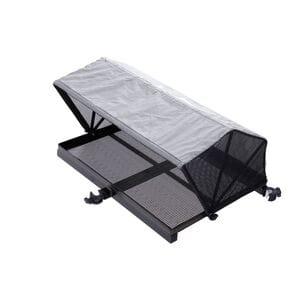 Столик с тентом и креплением к платформе Flagman Side Tray with tent 670x510mm 25mm