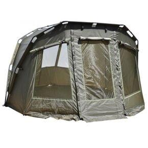 Карповая палатка Carp Zoom CZ Frontier Bivvy&Overwrap с зимним покрытием