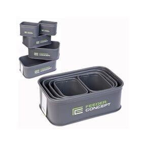Емкости для прикормки и насадки Feeder Concept EVA 5 Box Set