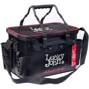 Сумка рыболовная с держателем для удилищ Lucky John EVA 360X230X250
