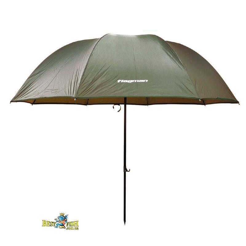 Зонт рыболовный Flagman 2,5m Зеленый