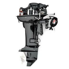 Мотор Parsun 15 Л.С. 2-х тактный электростартер и Д\У управление