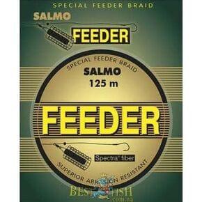 Плетеный шнур Salmo FEEDER 125 m 0,12мм