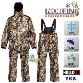 Костюм зимний Norfin Hunting GAME PASSION GREEN (-10°C)