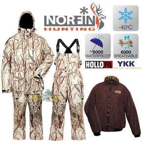 Костюм зимний Norfin Hunting NORTH RITZ (-40°C)