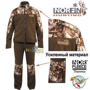 Костюм флисовый Norfin Hunting FOREST