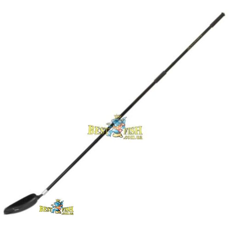 Лопата для заброса прикормки большая Carp Expert + ручка Gold Star TGV 180 см