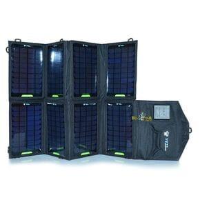 Солнечная батарея портативная Bratfishing  28.0Вт/1900mA + 18V1.55A