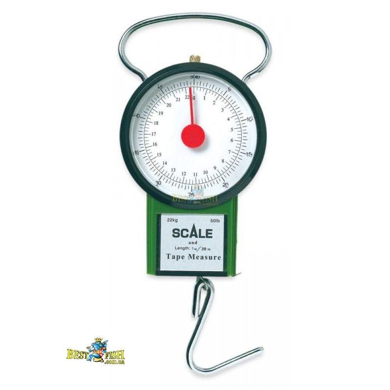 Весы Lineaeffe 22кг круглые + рулетка Classic