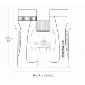 Бинокль Hawke Endurance Top Hinge ED 10x32 (Green)