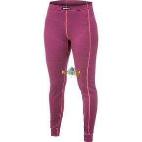 Термокальсоны женские Craft Active Long розовые/красные швы