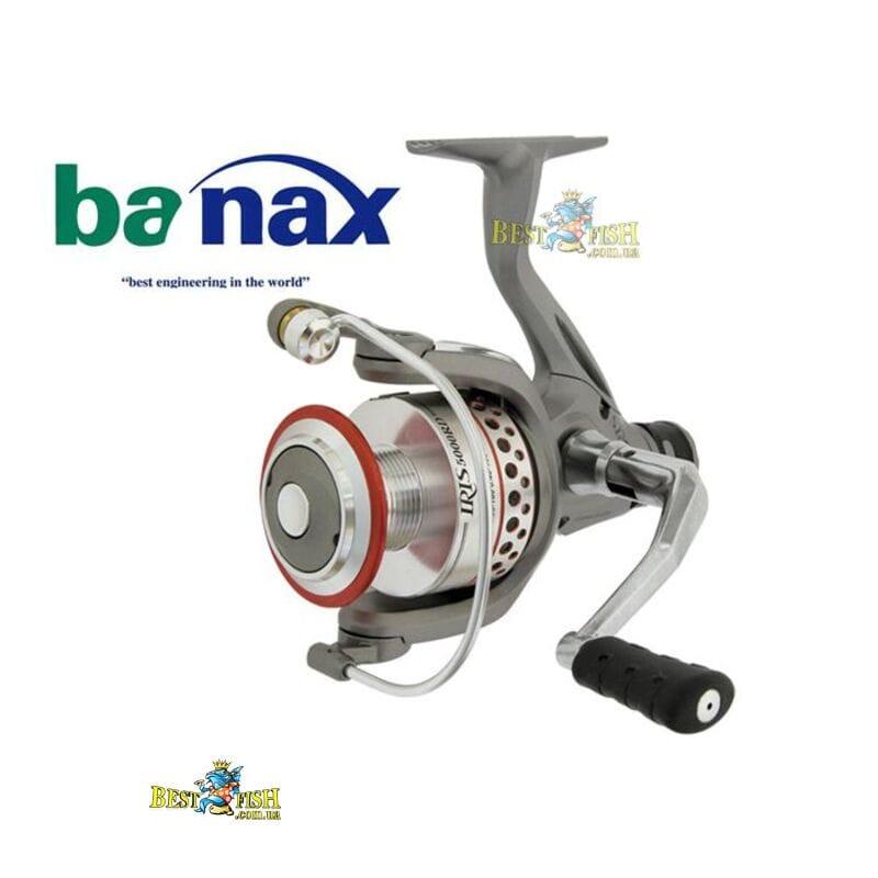 Безинерционная катушка Banax IRIS 3000 RD 4+1подш.
