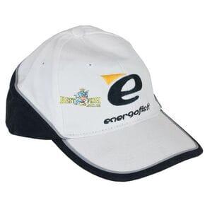 Бейсболка ENERGOFISH бело - черная