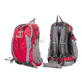 Рюкзак Bratfishing красно-серый 40 л