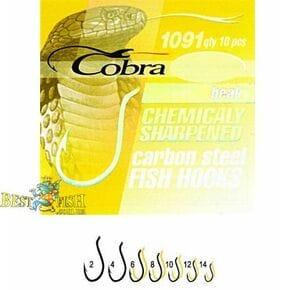 Крючки Cobra BEAK GOLD 006