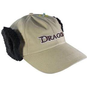 Кепка Dragon теплая светлая с темным мехом