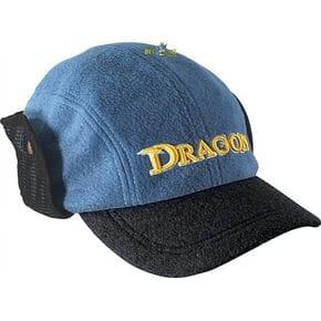 Кепка Dragon с отворотом флисовая синяя