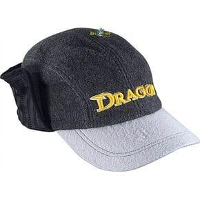Кепка Dragon с отворотом флисовая серая