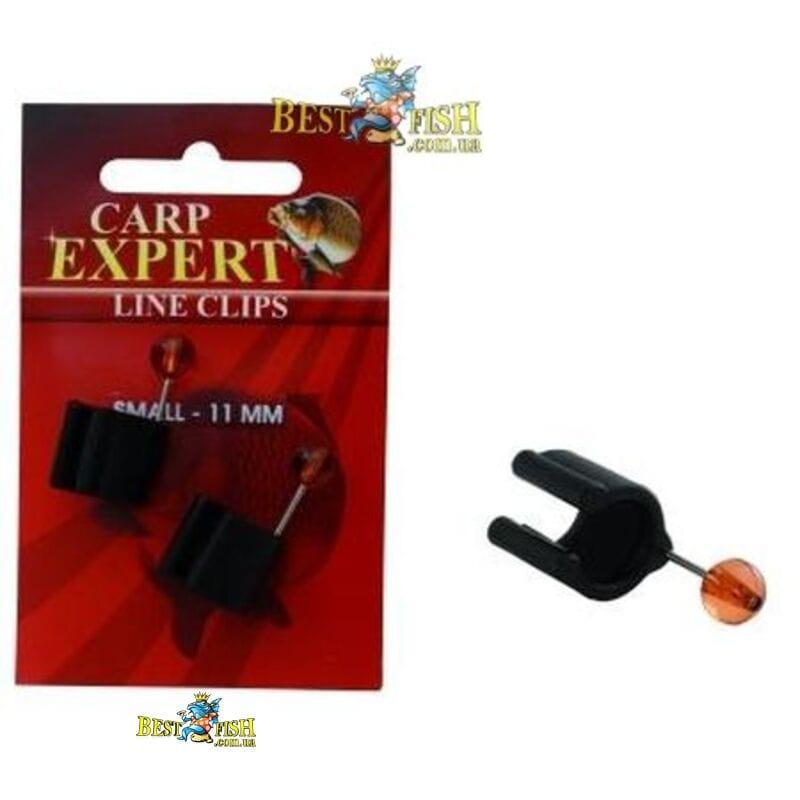 Клипса для лески карповая Carp Expert LINE CLIPS 11мм