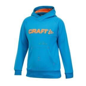 Толстовка детская Craft Stretch Hood голубая