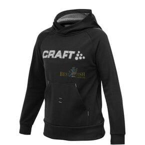 Толстовка детская Craft Stretch Hood черная