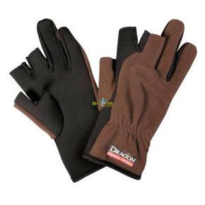 Перчатки Dagon флисовые теплые коричневые