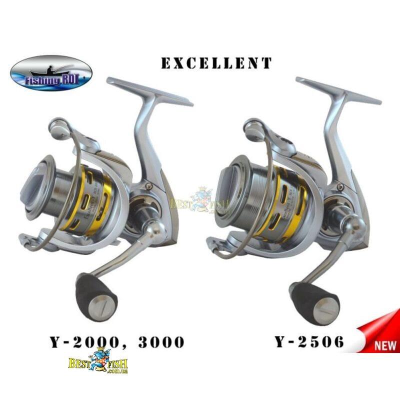 Катушка Fishing ROI Excellent-Y 2506 8+1