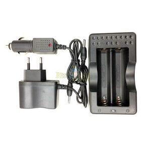 Зарядное устройство 403, 2*18650 от 220V или 12V, блистер