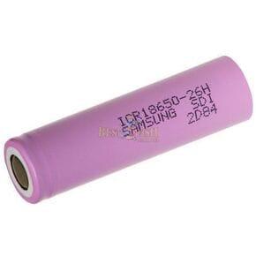 Аккумулятор Samsung 2600 mAh (ICR18650-26J)