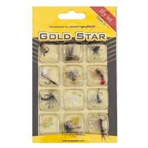 Набор мушек Gold Star 2 12шт