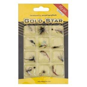 Набор мушек Gold Star 12шт