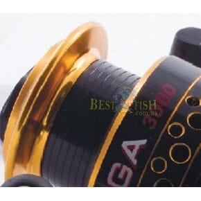 Катушка Bratfishing Omega black 3000 6+1