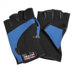 Перчатки Dragon неопреновые сине-черные