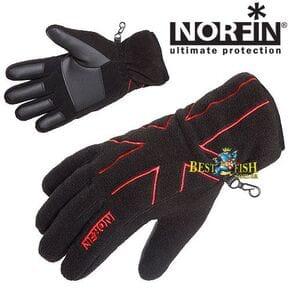 Перчатки женские Norfin Black