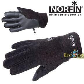 Перчатки женские Norfin Fleece Black