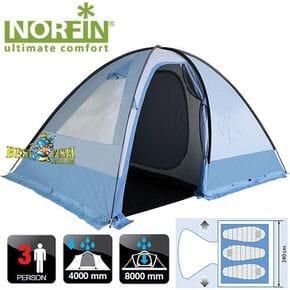 Палатка кемпинговая 3-х местная Norfin NIVALA 3 NFL