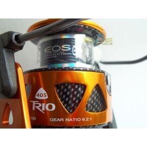 Безинерционная катушка Okuma TRIO High Speed 55 FD (скор.6.2 : 1)