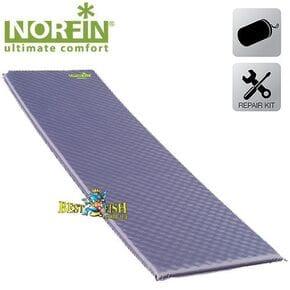 Коврик самонадувающийся Norfin ATLANTIC NF 3,8 см