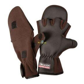Перчатки Dagon флисовые теплые с откидной варешкой