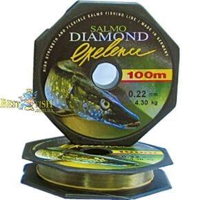 Леска монофильная Salmo Diamond EXELENCE 150/015