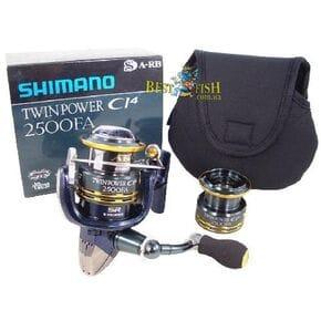 Безинерционная катушка Shimano TWIN POWER CI4 2500 FA