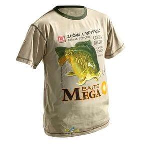 Футболка Dragon Карп Mega Baits бежевая