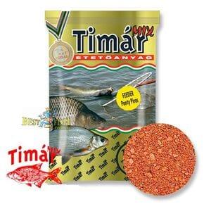 Прикормка TIMAR MIX FEEDER CARP red красный 1kg